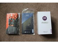 Cheapest in UK - New Sealed -Motorola Moto Z Smartphone, Android, 32GB Black with JBL Mod Bundle