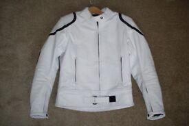 Ladies Leather motorcycle jacket – like new.