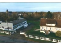 Big workshop and house in region Centre, Val de Loire (France)