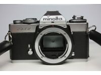 Minolta XD7 Camera with 50mm f1.4 Lens and original owner's manual