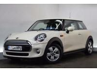 MINI HATCH COOPER 1.5 COOPER D [REVERSE CAMERA] 3d 114 BHP (white) 2014