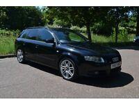 2007 (57) AUDI A4 2.0 TDI (170 BHP) S LINE AVANT SPECIAL (BLACK) EDITION