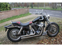 Harley Davidson 1340 Dyna Wideglide Planet Engineering Custom
