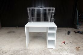 Small White IKEA Desk