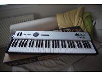 Alto Live 61 midi controller keyboard - great condition with original box