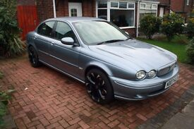 Jaguar X-Type 2.0 D Sport 4dr BRAND NEW 18 inch WOLFRACE ALLOYS
