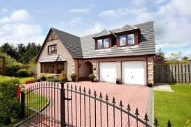 Detached 5 bed house near Westhill