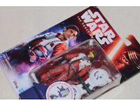 "Star Wars The Force Awakens POE DAMERON 3.75"" figure (Hasbro) - NEW IN PACK"