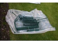 SMALL PLASTIC GREENHOUSE- EXCELLENT CONDITION