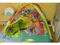 Baby gym, musical play mat
