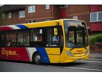 Bus drivers Glasgow Citybus: PCV license required