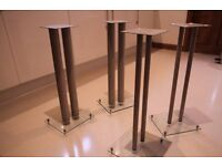 Quality Speaker stands - sell as 4 or pairs