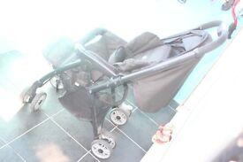 Baby Trolley Stroller black