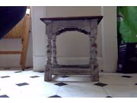 Gorgeous bedside table distressed, country french feel, shabby chic