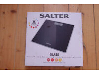 Salter Glass digital scales, never used