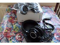 Audio Technica M50X monitoring headphones
