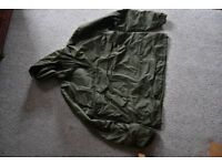 Mens size XL ex army smock. Ideal cold weather clothing. Unused, bought in error.