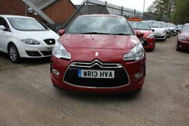 Citroen DS3 1.6 VTi DStyle 3dr 12Month Warranty Parts & Labour Automatic 37520 Mileage