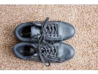 Mens black shoes UK size 10
