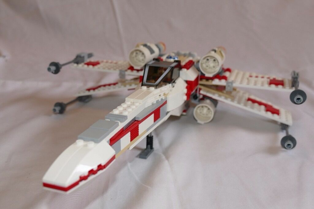 LEGO Star Wars X-Wing Fighter 2006 (Set 6212) complete with mini ...