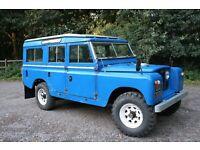 Series 2 Land Rover 109 Safari