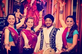 DHOL PLAYERS * BOLLYWOOD DANCERS * BOLLYWOOD & BHANGRA DJ in Cardiff / Newport / Bristol / Swansea