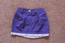 Jo Jo Maman Bebe Twill Mini Skirt - size 12 - 18 months