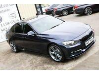 LATE 2012 BMW 3 SERIES 320D SPORT 184 BHP SALOON * NIGHT EDITION SPEC * ( FINANCE & WARRANTY)