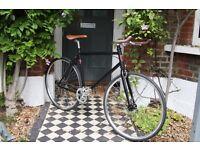 GOKU CYCLES Special Offer! Steel Frame Single speed road TRACK bike fixed gear racing bike eq32