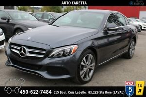 2015 Mercedes-Benz C-Class C300 4MATIC, LED LIGHTS, GARANTIE MER