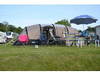 KAMPA southwold air 8 inflatable tent - large 8 berth blow up tent