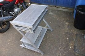 Aluminium Computer Desk Table
