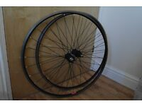 Racing Bike Wheels 700c 8- 9 Speed Cassette Alloy Wheels Quality Wheels by Claude Butler Can Deliver