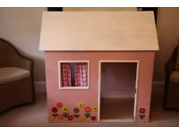 Handmade indoor playhouse. Ideal for playgroup. FREE if can collect.