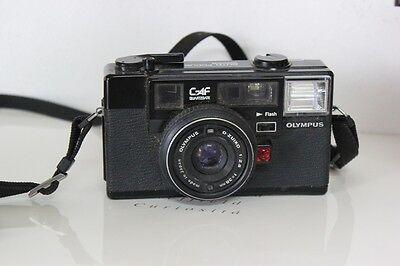 MACCHINA FOTOGRAFICA VINTAGE OLYMPUS AUTO FOCUS ANNO 1981 DA COLLEZIONE