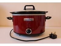 Crock-Pot 3.5 L Slow Cooker - Red