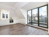Brand new two double bedroom top floor apartment on Church Rise