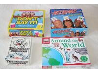 Family / Kids / Party Board Games: Hedbanz, Don't Say It, Around the World, Dalmation Dominoes