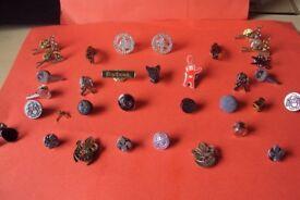 33 Mixed Rare Pin Badges collectable badges