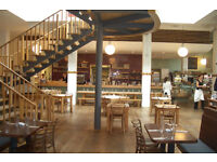 Supervisor for busy waterfront brasserie