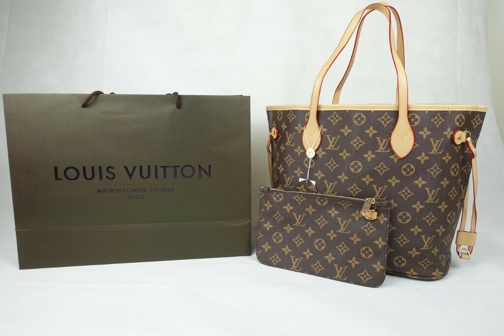 2badd4994 Handbag Leather Good Quality lv bag Purse Louis Vuitton neverfull £75