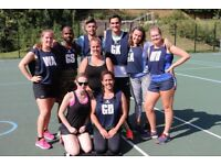 Join A Netball Team For January