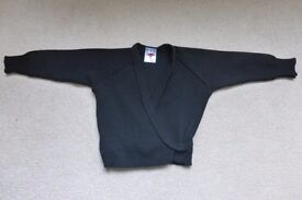 Black Crossover Dance Cardigan size 26""