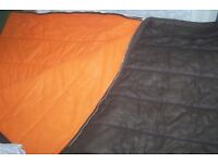 2 Quilted Sleeping Bags