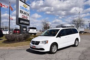 2016 Dodge Grand Caravan SXT, STOW AND GO, DVD, PWR REAR WINDOWS