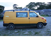 VW Transporter T4 Van 2003 2.4 TDi (FSH long MOT - NO VAT) Iconic AA van!