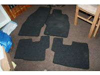 vauxhall corsa car mats full set hardly used