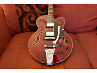 Ibanez Artcore AFS75T-TRD Transparent Cherry Red Electric Guitar Open to Offers