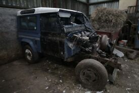 Landrover Project/Breaking