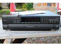 Technics 5 disc CD player